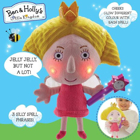 Ben & Holly - SILLY SPELLS HOLLY - Glowing Cheeks & Phrases